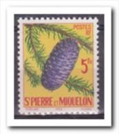 Saint-Pierre Et Miquelon 1958, Postfris MNH, Trees - St.Pierre & Miquelon