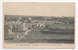 14 CALVADOS - ARROMANCHES Vue Générale, Prise Au Bout De La Route De Bayeux - Arromanches
