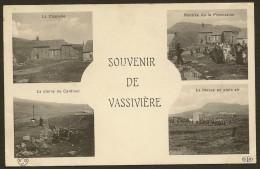 VASSIVIERE Multivues Souvenir (ELD) Puy De Dôme (63) - Altri Comuni