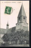 SAINT - ETIENNE - à - ARNES . L'Eglise . - Other Municipalities