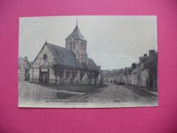 Cpa.r - La Ferrière-sur-risle (27) - L'église - Carte Toilée - éditions Guemier - Autres Communes