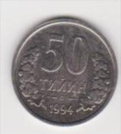 UZBEKISTAN   50 TIYIN   ANNO 1994 - Uzbekistan
