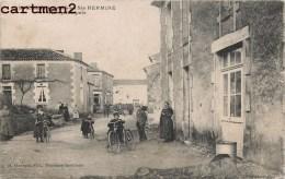 SAINT-MARTIN-LARS-EN-SAINTE-HERMINE RUE PRINCIPALE ANIMEE 85 VENDEE - France