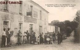 SAINT-MARTIN-LARS-EN-SAINTE-HERMINE HOTEL DES VOYAGEURS TENUE PAR M. FOURETIER ANIMEE 85 VENDEE Byrrh - France