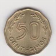 URUGUAY   50 CENTESIMOS     ANNO 1981 - Uruguay