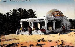 [DC4302] CARTOLINA - TUNISIA - UN MARABOUT DANS L'OASIS - Non Viaggiata - Old Postcard - Tunisia