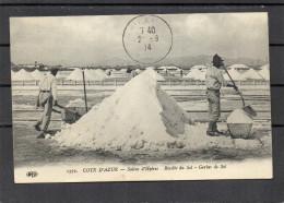 Les Salins D´hyères - Récolte Du Sel - Hyeres