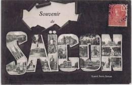 Cpa  SOUVENIR DE SAIGON - Viêt-Nam