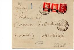 762/500 -  LATIANO  9/6/1946 , Lettera Per Loreto - Storia Postale