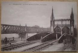 1 CPA  Vierge 67 STRASBOURG La Garde Des Ponts Du Rhin Rive Badoise - Strasbourg