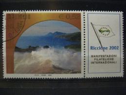 ITALIA USATI 2002 - RICCIONE 2002  2646 - RIF. G 0113 - 6. 1946-.. Repubblica