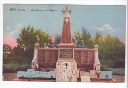 Hem (59) - Monument Aux Morts. Petit Pli Coin Gauche Bas, A Circulé (1950). - Andere Gemeenten