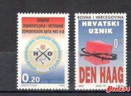 Bosnia Croatian Post - Charity Stamps 1999 MNH - Bosnia And Herzegovina