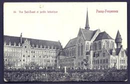 CPA ANCIENNE- BELGIQUE- PASSY-FROYENNES- LE PENSIONNAT- VUE SUD-OUEST ET JARDIN BOTANIQUE DEVANT - Tournai