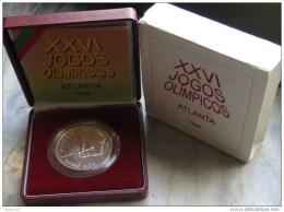 VF ESTOJO  PROOF DE PORTUGAL DE 200 ESCUDOS XXVI JOGOS OLIMPICOS 1996 - Portogallo