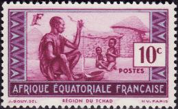 AEF -  Y&T  191  -  NEUF**  - Region Du Tchad  - Cote 0.90e - Neufs