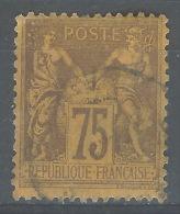 QQ--059.  N° 99, Obl. , Cote 35.00 € ,  VOIR SCAN POUR DETAIL ,  Liquidation !! A Saisir - 1876-1898 Sage (Type II)