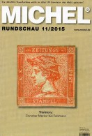 MICHEL Briefmarken Rundschau 11/2015 Neu 6€ New Stamp+coins World Catalogue And Magacine Of Germany ISBN 9 783954 025503 - Autogramme & Autographen