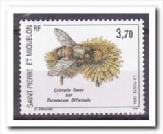 Saint-Pierre Et Miquelon 1994, Postfris MNH, Flowers, Bees - St.Pierre & Miquelon