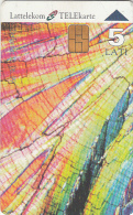 LATVIA - Microscope Pictures 2, Tirage 25000, Exp.date 30/06/99, Used - Latvia