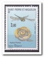 Saint-Pierre Et Miquelon 1992, Postfris MNH, Flowers, Insects - St.Pierre & Miquelon