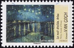 FRANCE   2013  -  YT  935  - Van Gogh  - Lettre Verte  - Oblitéré - Francia
