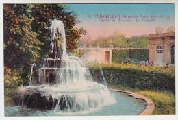 CPA Versailles, Grandes Eaux Dans Les Jardins Du Trianon, La Coquille (pk25826) - Versailles (Château)