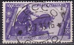 Regno D´Italia, 1932 - 50c Marcia Su Roma - Nr.332 Usato° - Usati