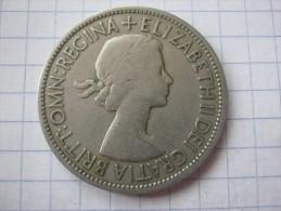 United Kingdom 1/2 Crown 1953 - 1902-1971 : Post-Victorian Coins