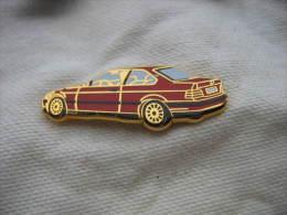 Pin´s  Arthus Bertrand, BMW De Couleur Rouge - BMW