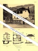 Photographien / Ansichten , 1936 , Tegna , Melezza , Rasa , Prospekt , Architektur , Fotos !!! - TI Ticino