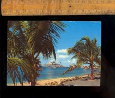 ARUBA Dutch Caribbean Nederlandse Antillen  ORANJESTAD Harbour Paquebot Maritime Vessel Cruise Ship - Antilles Neérlandaises
