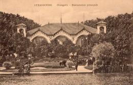 CPA  --  DPT 67  --  STRASBOURG  --  L ´ ORANGERIE  --  RESTAURATION  PRINCIPALE  --  1 / 4 / 86..... - Straatsburg