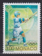 1996 MONACO   ** MNH Base-ball Baseball  Béisbol [DD02] - Béisbol