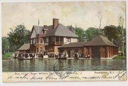 S3586 - Boat House; Roger Williams Park - Providence - Providence