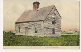 S3588- The Old Coffin House, Built In 1686 - Nantucket - Nantucket