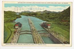 S3591- Miraflores Locks, Looking Towards Gaillard Cut, Panama Canal - Panama
