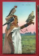 HAP-12  Fauconnier Avec 3 Faucons. Non Circulé - Vogels