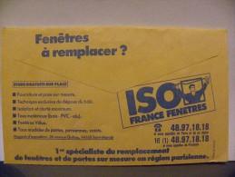 Enveloppe CCP Recto Sicav Verso Fenetres à Remplacer Iso - Advertising