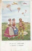 Postcard RA005270 - Hungary (Magyarország) WW2 Ejtoernyos - Weltkrieg 1939-45