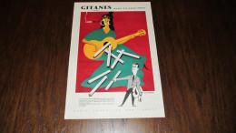 GITANES CAPORAL , AVEC OU SANS FILTRE - PUBLICITE DE 1957 - ISSUE D'UN MAGAZINE ILLUSTRE. - Advertising