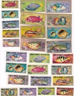 Um Al Qiwain 1967 Fishes MNH - Fishes