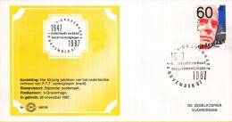 Nederland – Zegelkoerier Gelegenheidsstempels – Nederlands Verbond Van PTT Verenigingen  1947-1987 - 1987/60 - Poststempel