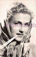 MONIQUE ROLLAND - Portrait - Actrice - Artiste - Dos Vierge  - 2 Scans - Artistes