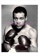 JOE LOUIS - Portrait - Boxeur - Sportif - Dos Vierge - 2 Scans - Sportifs