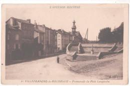 CP L´Aveyron Illustre Villefranche-de Rouergue (12 Aveyron) Promenade Du Petit Languedoc - Villefranche De Rouergue