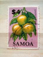 Samoa 1983 Grapefruit Fruit - #617 (used) = 9 $ - Samoa