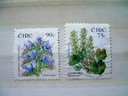 Ireland 2006 Flowers - #1653 + 1655 = 4.35 $ - Usati