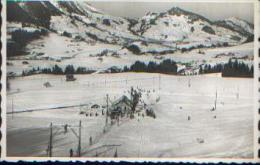 """SUISSE - CHATEAU D'OEX """"Ski-lift Des Monts Chevreuils"""" - Ed. Perrochet, Lausanne - VD Waadt"""