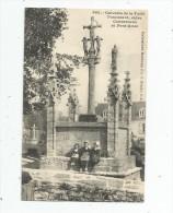 Cp , 29 , Calvaire De La Forêt FOUESNANT , Entre Concarneau Et Pont Aven , Vierge - Fouesnant
